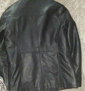 Пиджак зам кожа