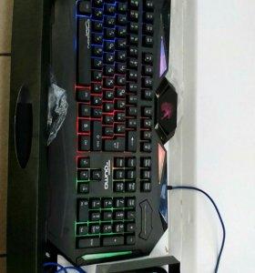 Геймерская клавиатура+мышь