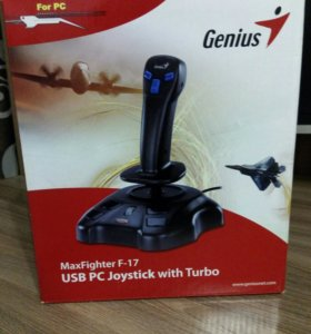 Genius MaxFighter F-17 USB PC Jpystick with Turbo