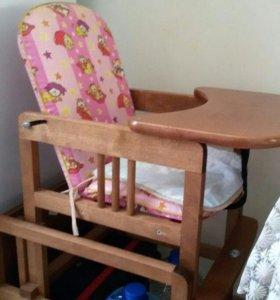 Детский стул-стол для кормления.