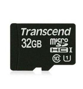 Микро CD карта 32 GB класс 10.