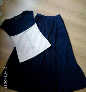 Комплект юбка +кофта