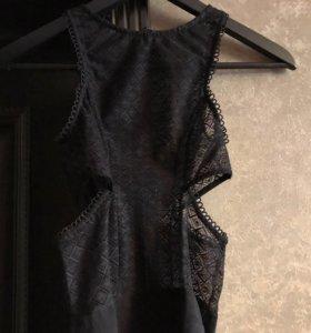 Топ Zara кружевной новый