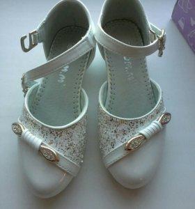 Туфли для девочки 28
