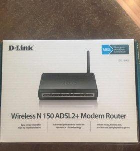 Wifi модем роутер Dlink с маршрутизатором