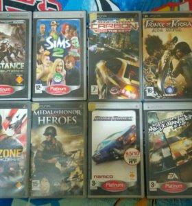 Игры PSP диски