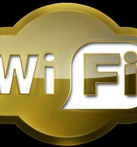Настройка Wi-Fi роутеров, обжимка коннектора RJ-45