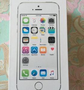 iPhone 5s,Silver 16GB