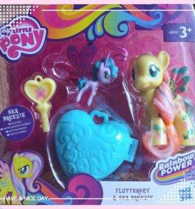 "My Little Pony ""Rainbow Power"": Fluttershy & Sea Breezie"