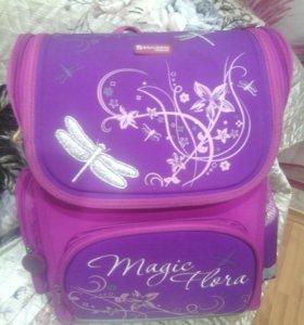 Школьный портфель для девочки