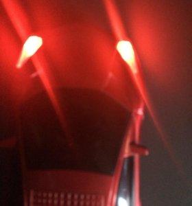 Колонка фирарри красная!!!