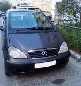 Mercedes-Benz A-Class, 2002 год
