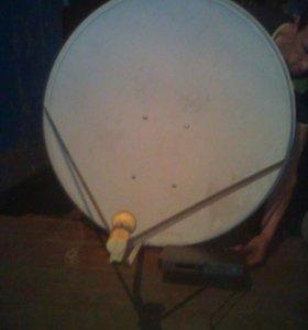 Продам спутниковую тарелку континент