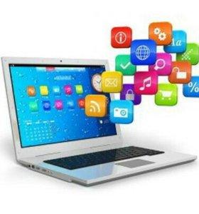 Установка Windows, настройка интернет