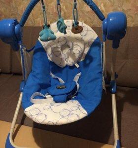 кресло качели babycare