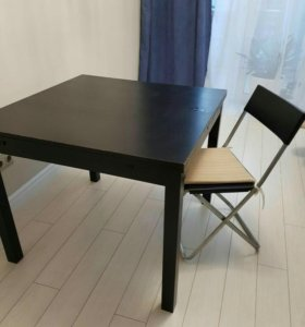 Стол кухонный раздвижной икея ikea 90×90