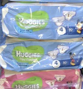 Huggies Ultra Comfort 4 (8-14кг) 80шт