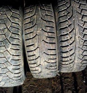 Три разные шины