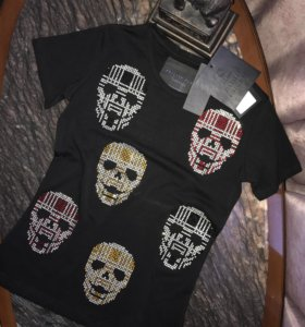 Philipp Plein❤️💯оригинал,Крутая футболка 💣🔥