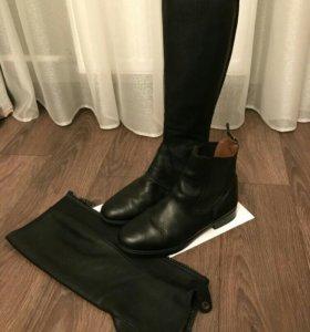 Ботинки+краги (кож.) для конного спорта