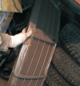 Для Мерседес W124 хром решетки радиатора