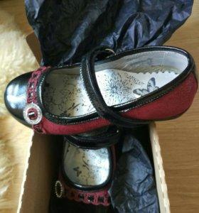 Продам туфельки Bartek 28р в идеальном состоянии