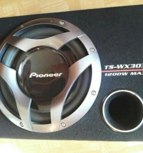 Сабвуфер Pioneer 1200w