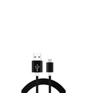 Кабель RedDeal Nylon Cable micro-USB Black