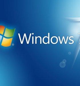 Установка Windows 7 + ПО
