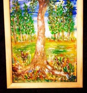 Картина Древо жизни(40х30)