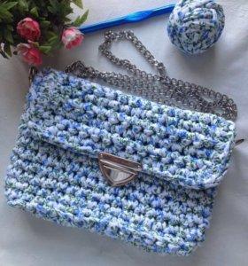 Новая сумка из трикотажной пряжи