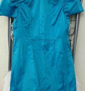 Платье новое бирюза