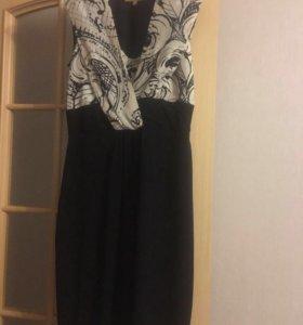 Платье,верх-шелк
