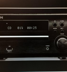 Ресивер + АС DENON 1.5г/Идеал/USB/CD/FM RDS/4+7кг