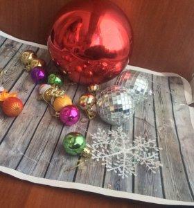 игрушки новогодние