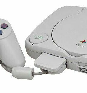 Psone. Sony playstation one slim