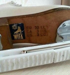 Коньки WiFa(вифа) р-р 32LL