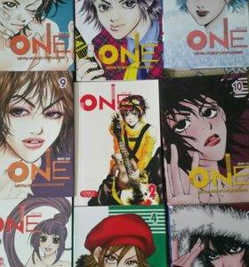 "Продам мангу "" One"" 10 томов. Вин Ли"