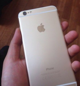 iPhone 6 Plus gold. 16 gb