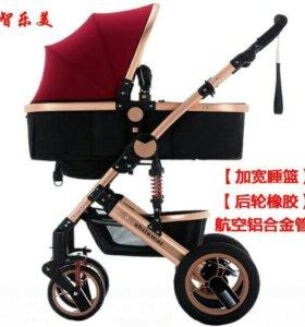Новая детская коляска 2 в 1