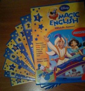 развивающие DVD английс уроки в формате мультиков