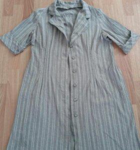 Кардиган-платье р.52-56