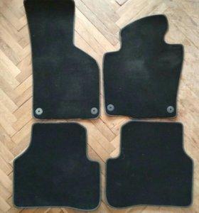 Оригинальные ворсовые коврики VW PASSAT