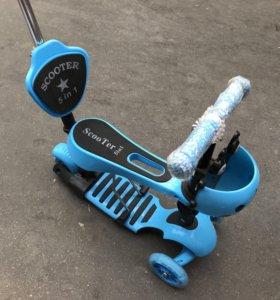 Scooter 5 in 1,Беговел,Самокат