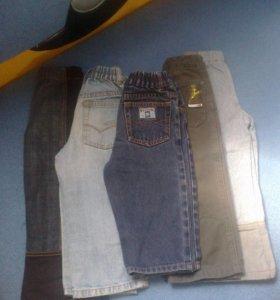 Продам детские джинсы (размеры разные)