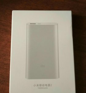 Xiaomi powerbank 2 10000mah+чехол силик