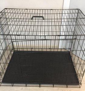 Продаётся клетка для собаки.