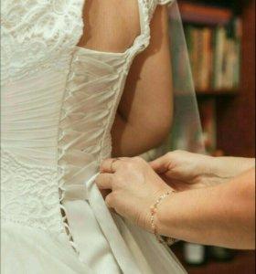 Свадебное платье Камилла белое