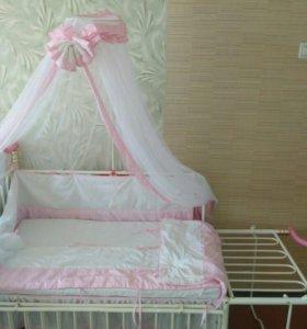 Кроватка детская трансфрмер