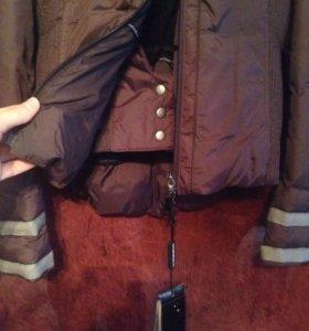 Armani куртка-пуховик